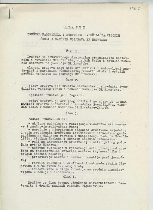 Pravila Društva iz 1966.