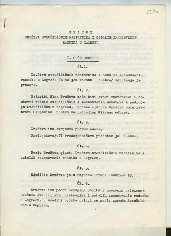 Pravila Društva iz 1980.